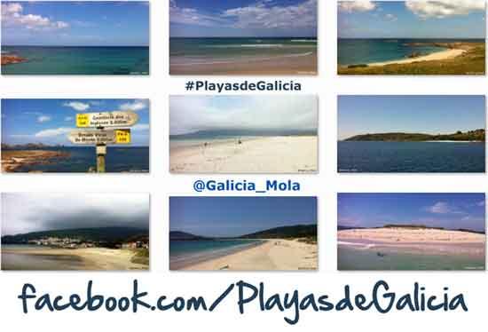 cuantas playas hay en galicia