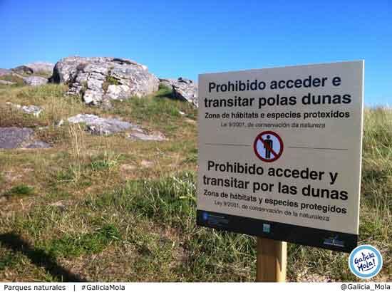cuantos parques naturales hay en galicia