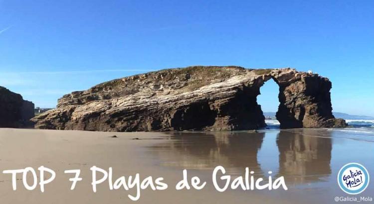 top 7 playas de galicia