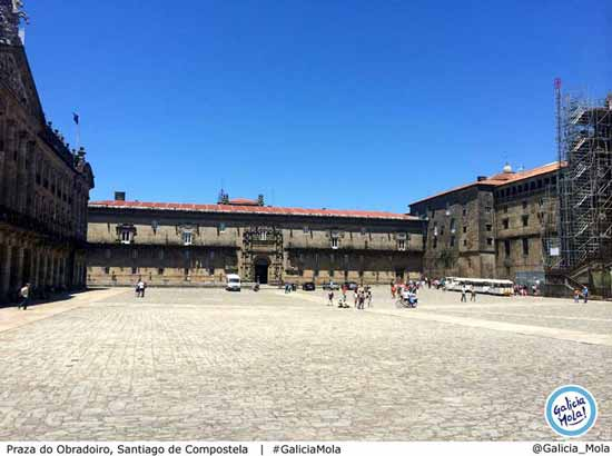 plaza do obradoiro Santiago de Compostela