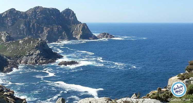 Mirador Alto do Principe en las Islas Cíes, Vigo