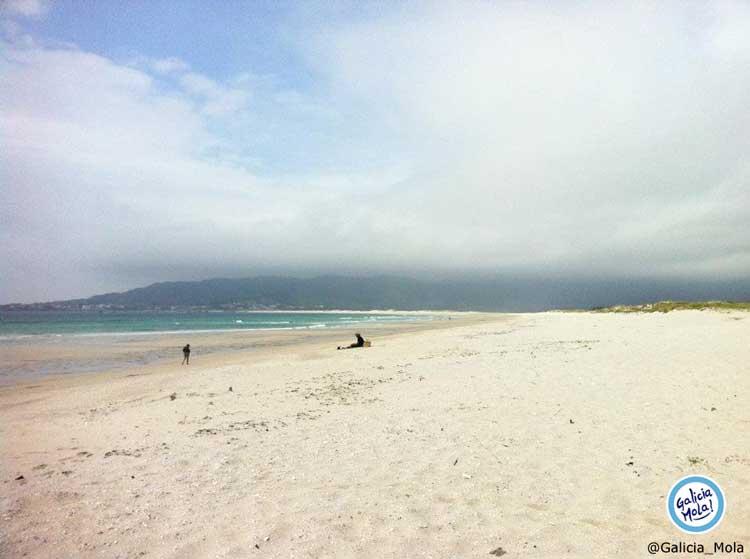 Playa de Carnota, la playa más grande de Galicia