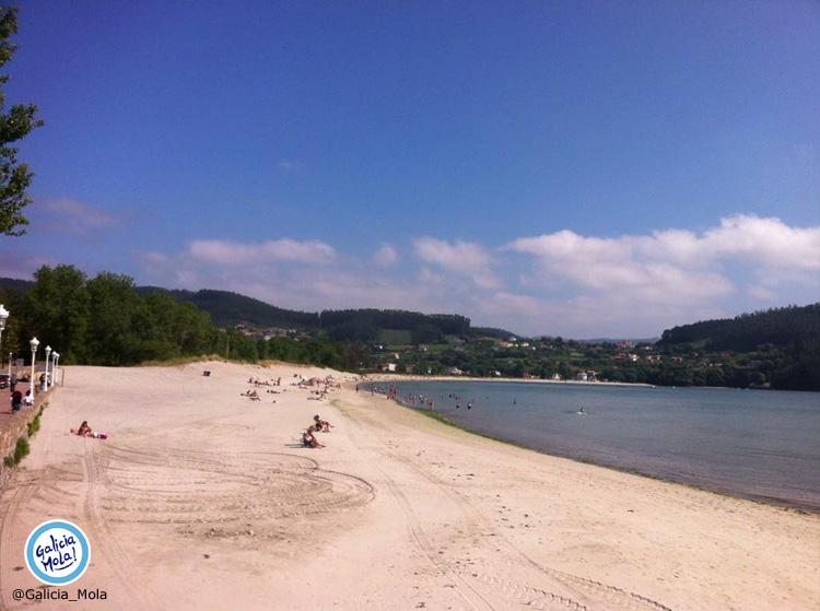 Playa en Cedeira