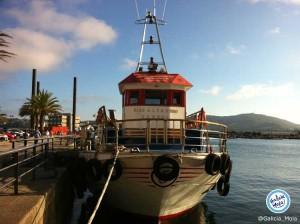 ruta barco por la ria Ferrol